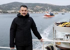 Tarım ve Orman Bakanı Bakanı Bekir Pakdemirli, bu sezon geçen sezona göre 3 kat daha fazla hamsi yakalandığını belirterek, 2023 yılında su ürünleri ihracatını 1 milyardan 2 milyar dolara çıkarmayı hedeflediklerini söyledi. ( Mahmut Serdar Alakuş - Anadolu Ajansı )