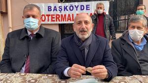 CHP Jeotermal Enerji Araştırma Komisyonu üyeleri, İzmir'de jeotermal sahalarında incelemelerde bulundu. CHP Genel Başkan Yardımcısı Ali Öztunç (ortada) başkanlığındaki komisyon üyeleri, Tire ilçesinde açıklama yaptı. ( Dilek Ayvalı - Anadolu Ajansı )